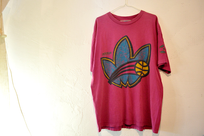80's adidas Basket Ball Tee