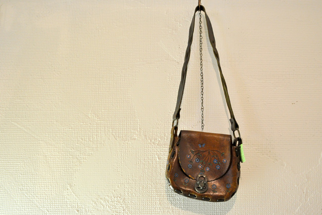 Leather Hippie Bag