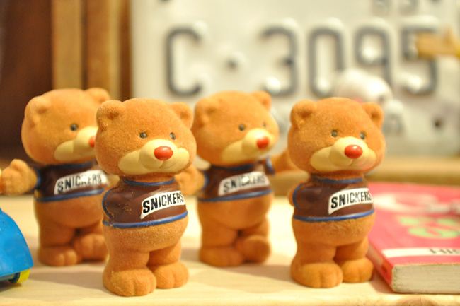 snickers bear