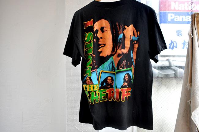 Bob Marley tee back