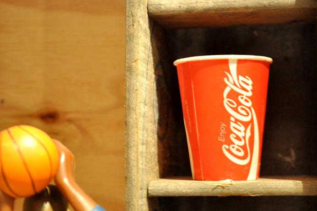 Coca Cola Waxcup