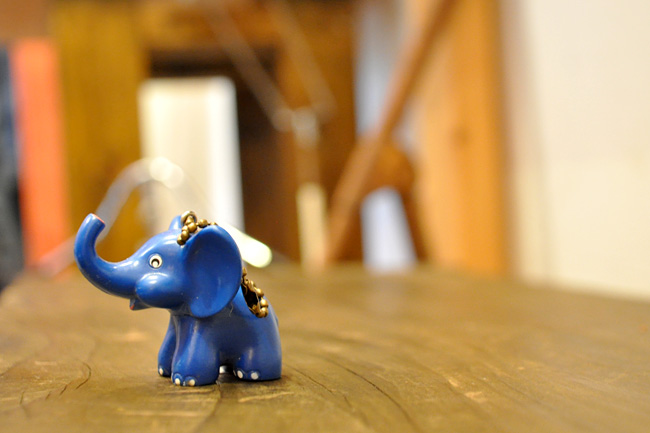 Metzeler Elephant Key chain