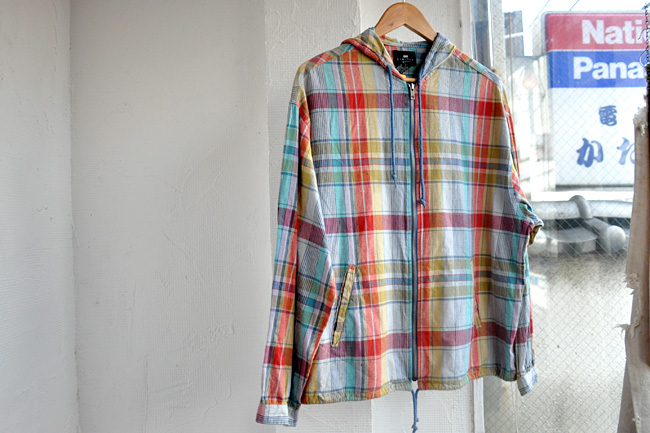 Limited check Zip up jacket