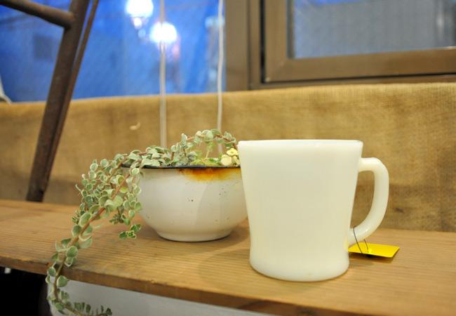 Fireking D handle mug white