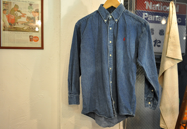 polo&country denim shirts