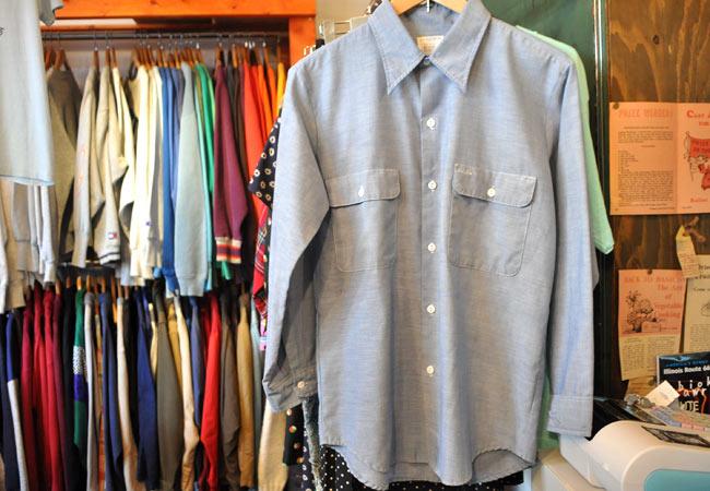 70's Big mac chambray shirts