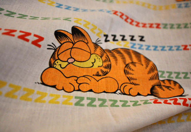 Garfield bed sheets