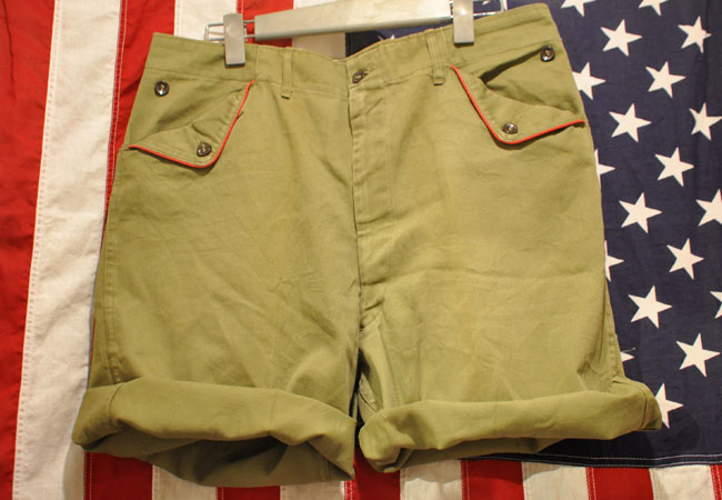 Boy scouts pants cut-off