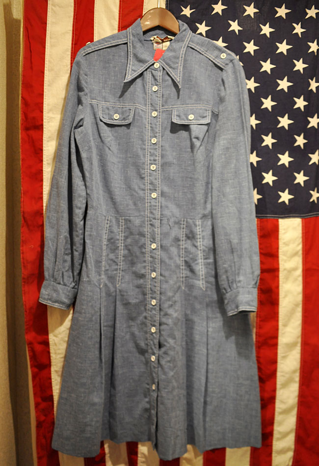 Chambray one piece
