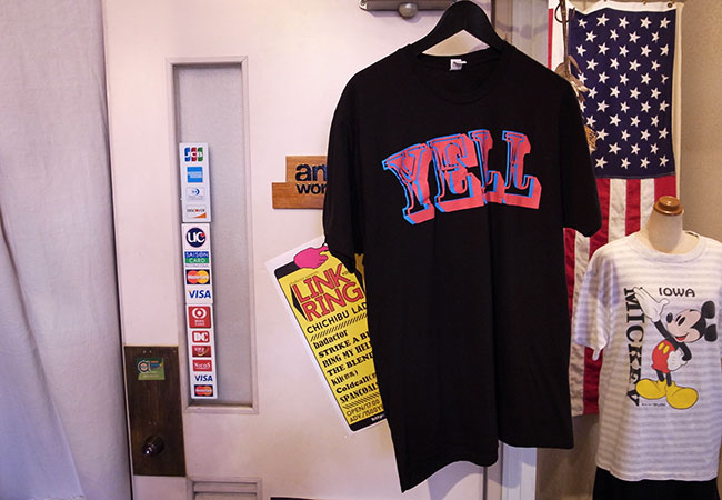 yell t-shirts