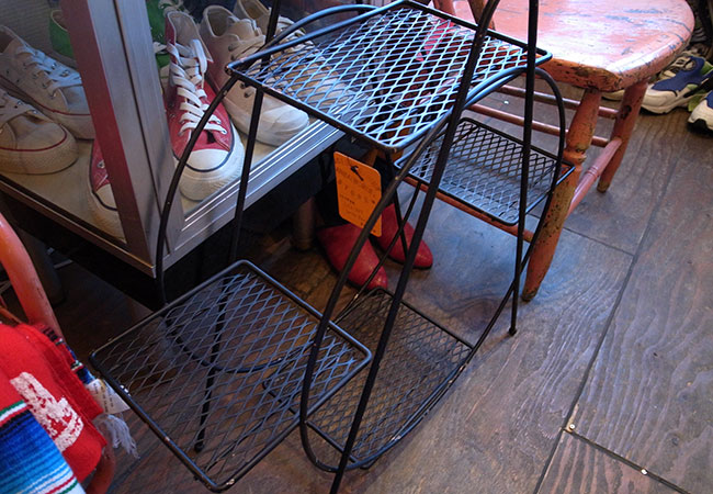 60's wire rack