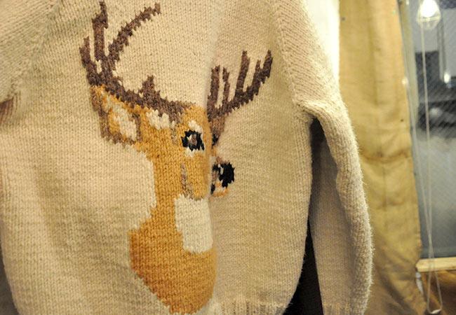 Cowichan Sweater back style