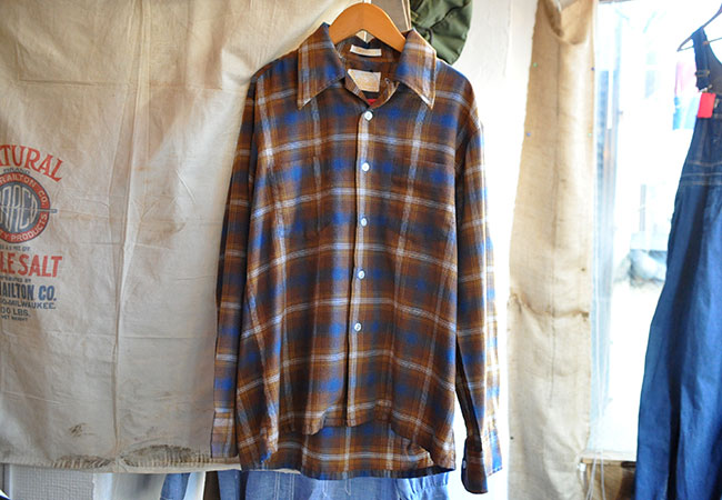 70's KINGS ROAD Sears Flannel shirts