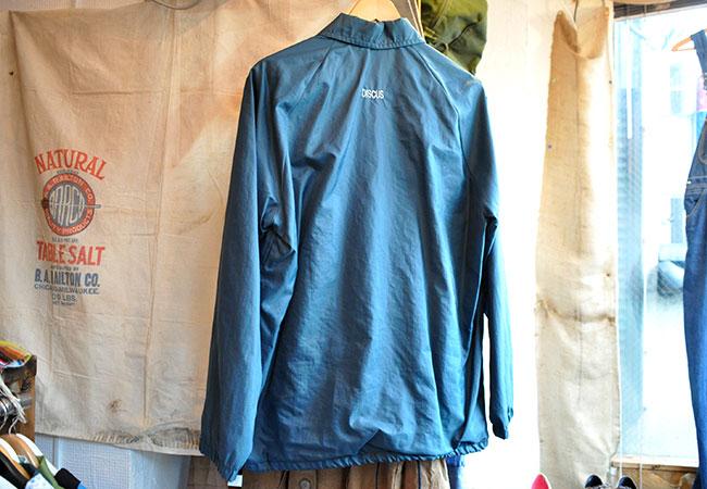 Nylon jacket back
