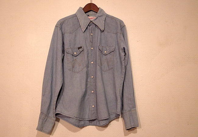 Wrangler Chambray shirts