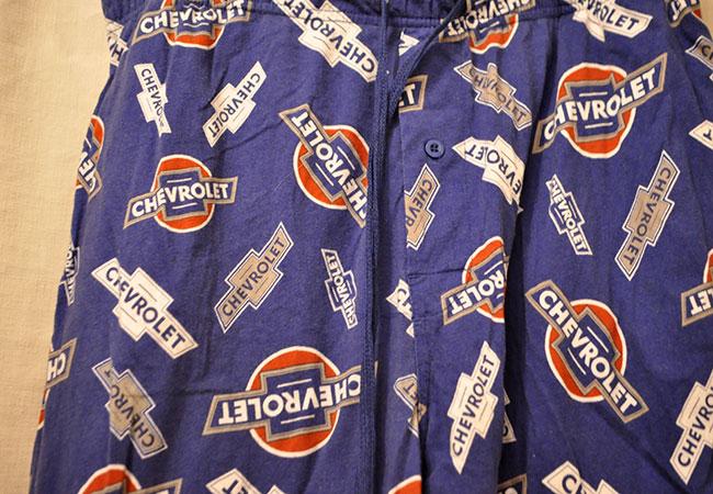 CHEVROLET pajamas pants
