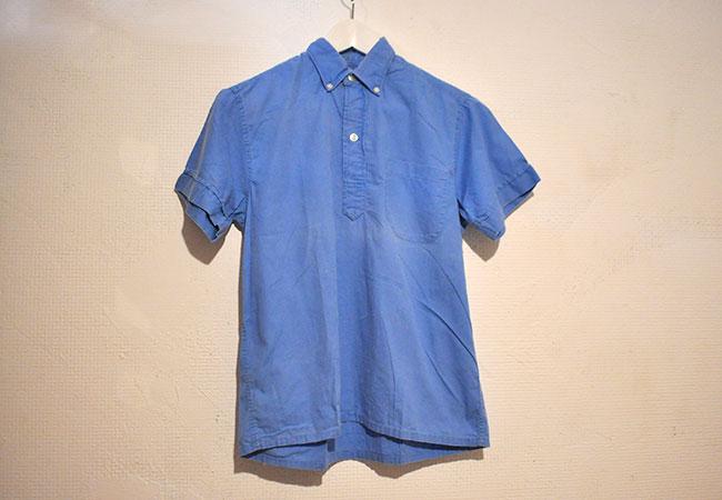 short sleeve pull over shirt