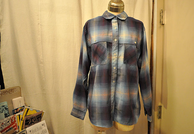 Ombre check shirt