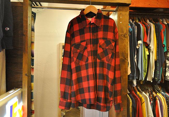 80's Sears Block Check Shirts.