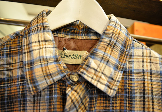 Quilting Flannel Shirts. 3500yen