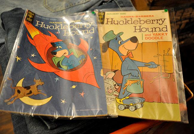 Huckleberry Hound Old Comic.1500yen each