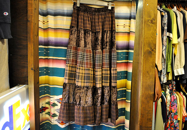 St.JOHN'S BAY Patchwork Skirt. 2500yen