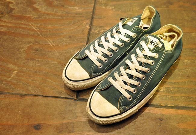 90's Converse ALLSTAR.Green.Low.27.5cm 7900yen