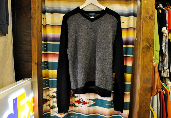 J.Crew Wool Sweater. 2500yen