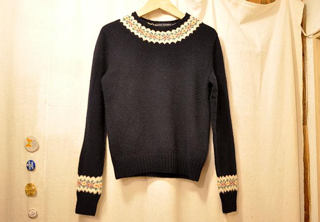 Ralph Lauren Sweater. 3900yen