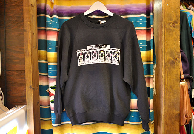 Old Print Sweat Shirts. 2900yen
