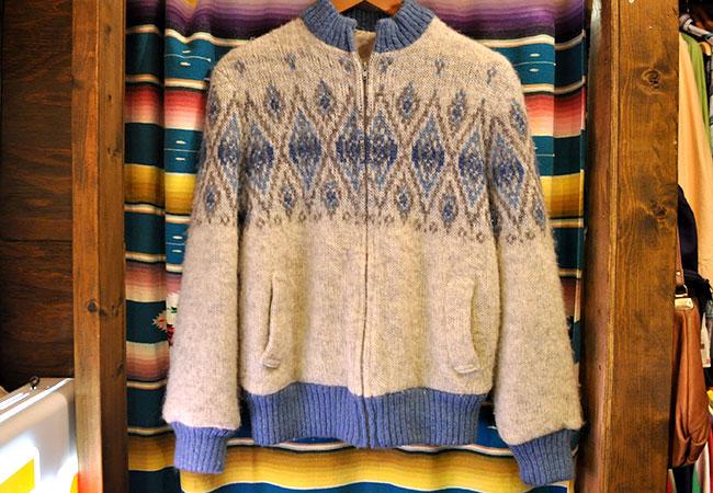 Wool Blouson. 4900yen