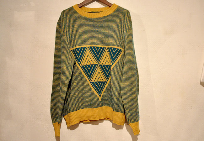 Euro Triangle Sweater. 3900yen