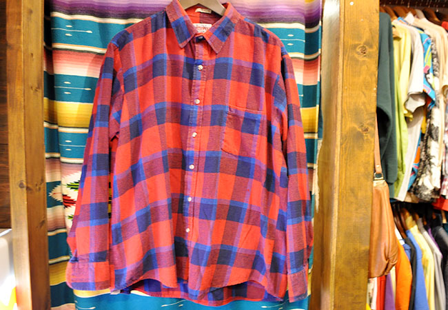 Flannel Shirts. 2500yen