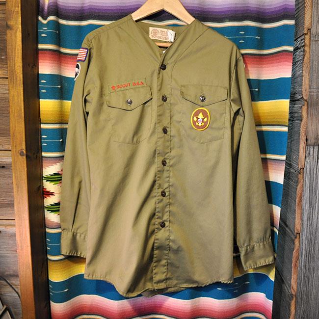 Boy Scout No-Collar Shirts. 3000yen