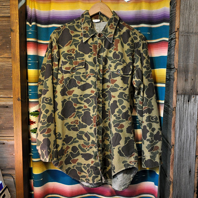 Big Camouflage Shirts. 2900yen