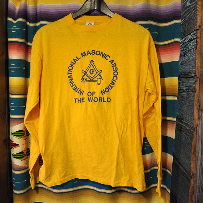 Freemasonry L/S T-Shirt. 2500yen
