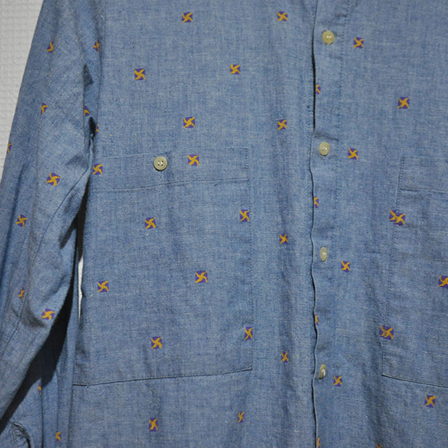 Chambray Shirts. 2500yen