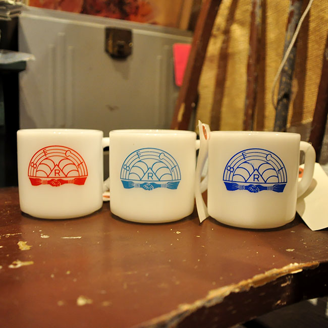 60's Freemason rainbow Girl Mug.