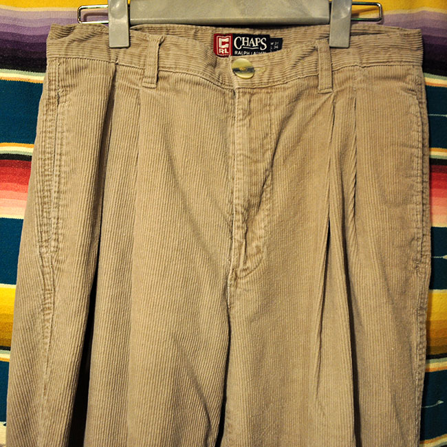 CHAPS Corduroy Pants. 3900yen