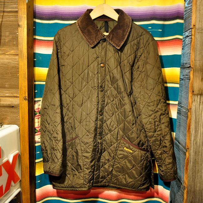Barbour Quilting Jacket. 6000yen