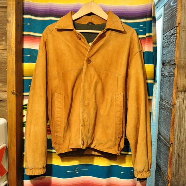 Made in ITALY Suede Jacket. 6900yen
