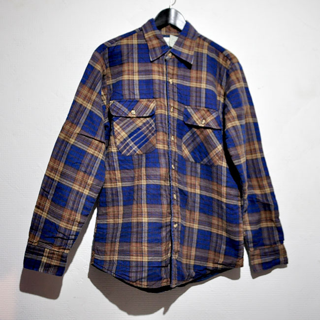 St. JOHN'S BAY Quilting Flannel Shirts. 2900yen