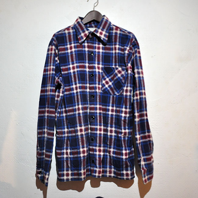 Old Print Flannel Shirts. 2500-