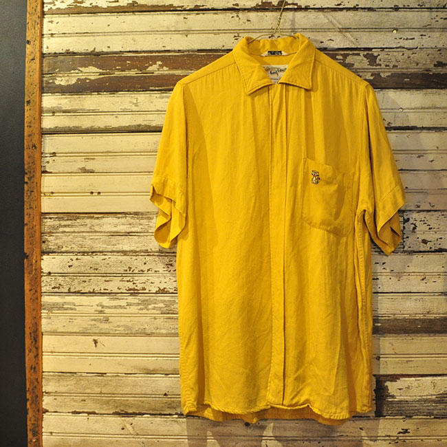 60's Rayon Bowling Shirt. 12900yen