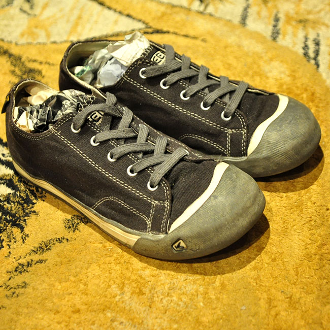 KEEN Canvas Shoes. 3500yen