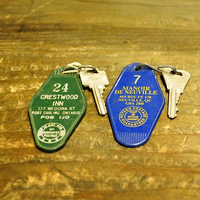 Motel Key Chain. 1000yen