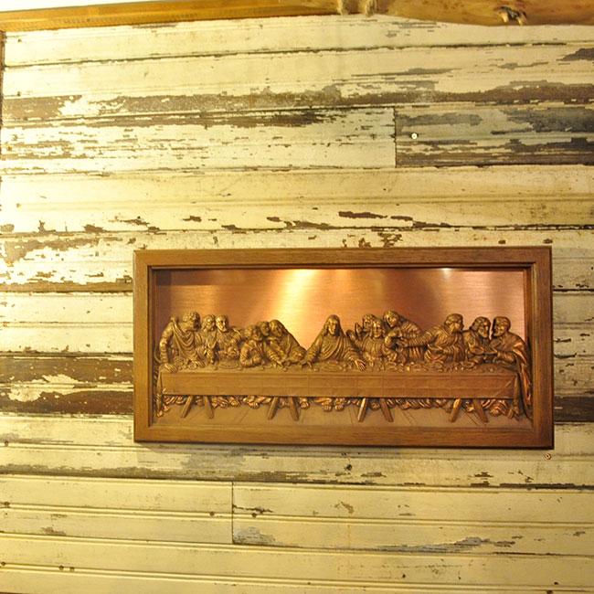 The Last Supper Plaque. 4900yen