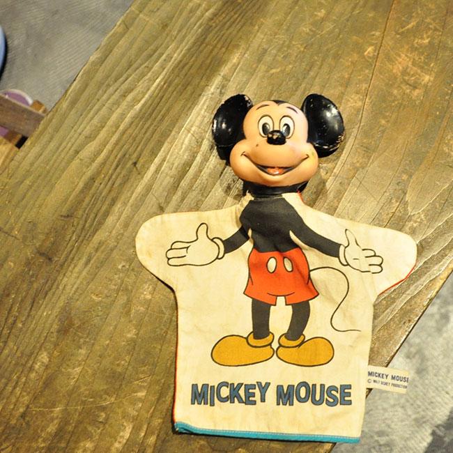 Mickey Hand Puppet. 1900yen