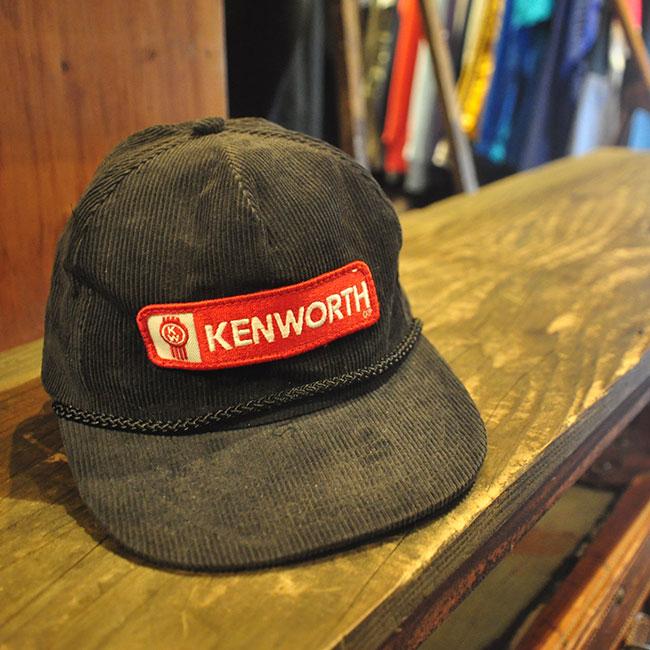 KENWORTH Corduroy Cap. 2500yen